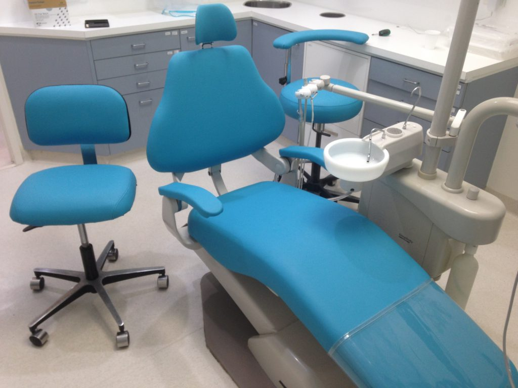 dental chair design and upholstery